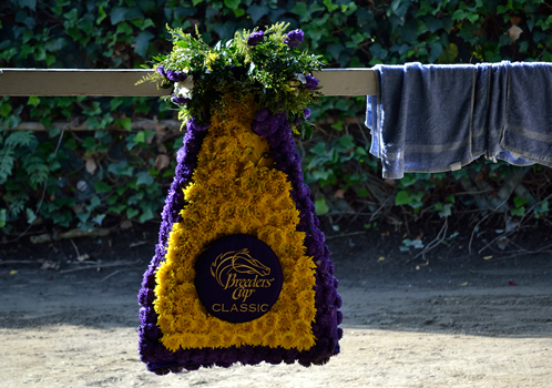 Mucho Macho Man's Classic garland on display at barn 126