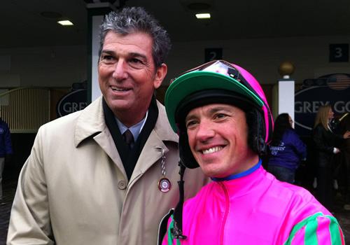 Andrew Rosen and Frankie Dettori
