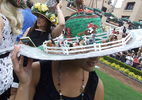 The hats of Del Mar