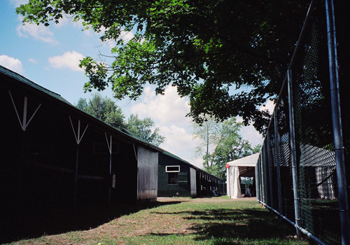 Saratoga detention barns, August 2005